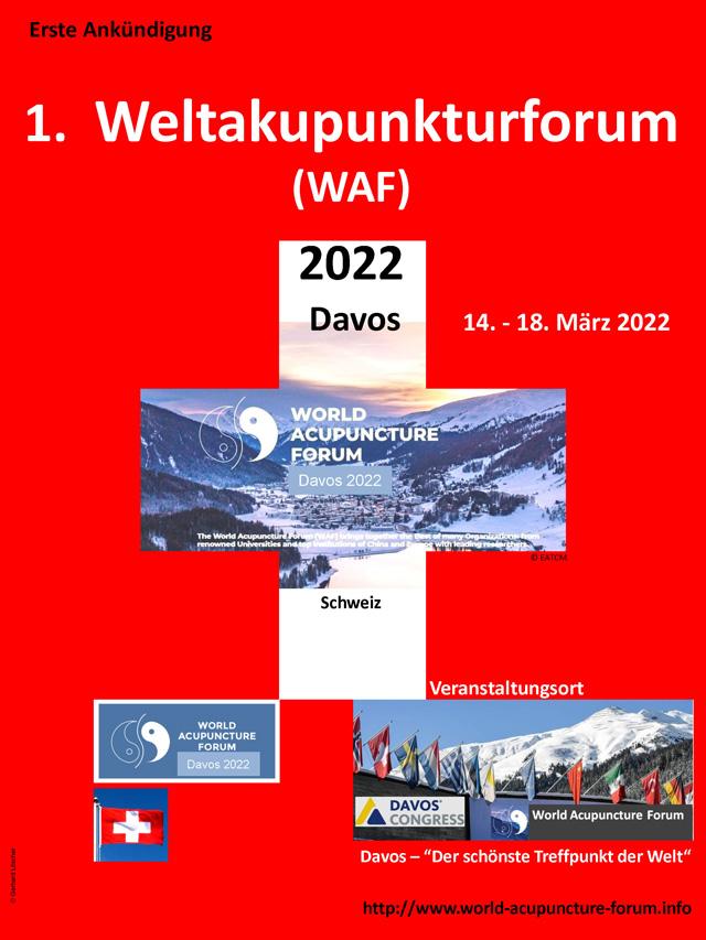 Weltakupunkturforum Davos 2022